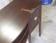 Elite furniture service/ Damaged top (before)