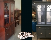 China cabinet before/after