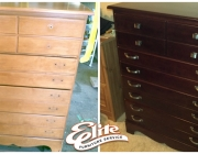Dresser before/after