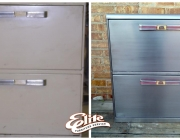 File cabinet restoration/update