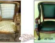 Chair before/after
