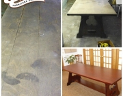 Bishop table restoration