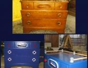 Dresser before/after