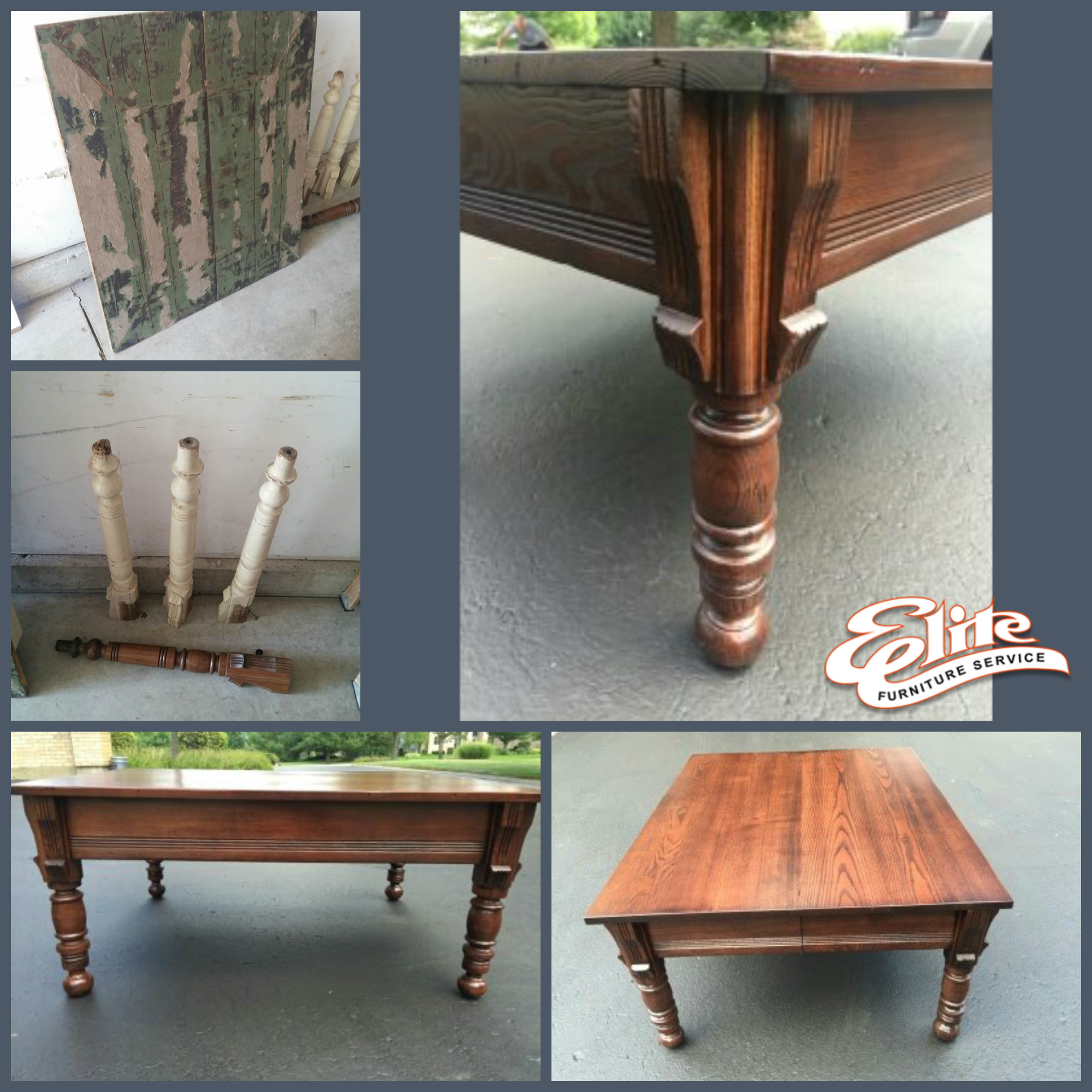 Before And After Furniture Restorations
